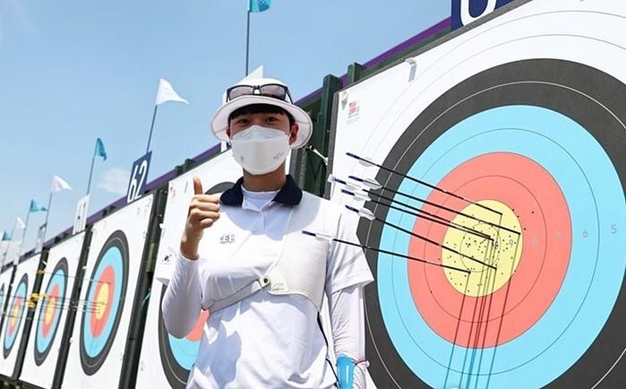 [포토-2020 도쿄올림픽] 한국 남...