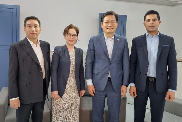 다문화TV '다문다각' 론칭, 송영길...